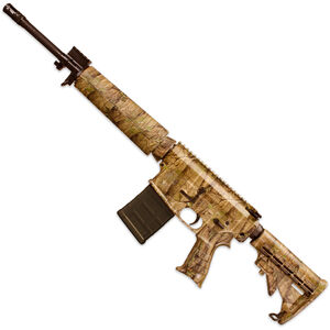 "Windham Weaponry SRC-308 TimberTec Camo Semi Auto Rifle .308 Winchester/7.62 NATO 16.5"" Barrel 20 Rounds Mid-Length Polymer Handguard 6 Position Collapsible Stock TimberTec Camo R16FTT-308-C3"
