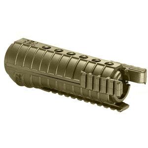 FAB Defense FGR-3 AR-15 Tri-Rail Carbine Length Drop-In Handguard Polymer FDE