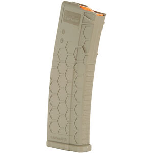 Hexmag Series 2 AR-15 30 Round Magazine/30 Round Body .223 Rem/5.56 NATO/.300 AAC Blackout PolyHex2 Advanced Composite Polymer Flat Dark Earth