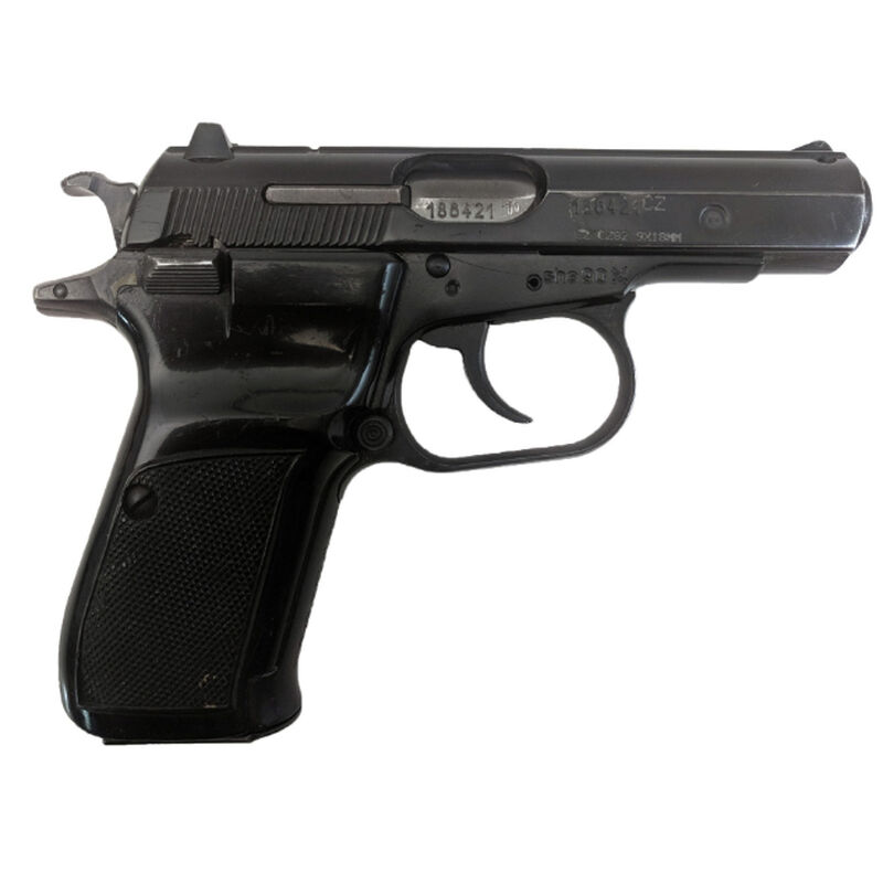 "Century Arms Czech CZ-82 9x18mm Makarov Semi Auto Pistol 3.8"" Barrel 12 Rounds Surplus Very Good Condition Polymer Grips Blued Finish"