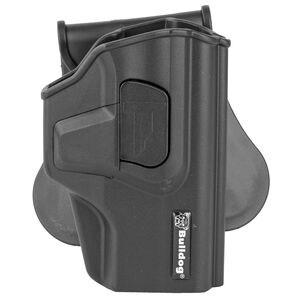 Bulldog Rapid Release For Sig P320 Paddle Holster Right Hand Polymer Black