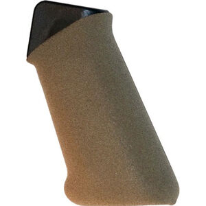 EZR Sport AR15/AR10 Rifle Grip with Grip Sleeve Polymer FDE