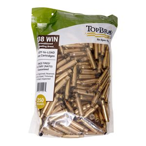 Top Brass .308 Winchester Reconditioned Brass 100 Count Bag