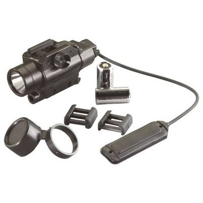 Streamlight TLR-VIR Weapon Mounted LED Tactical IR Light 160 Lumens 2x CR123A Batteries Toggle Switch Picatinny Mount Aluminum Matte Black 69180