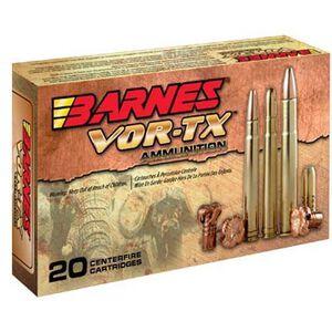 Barnes VOR-TX Safari .416 Rigby Ammunition 20 Rounds 400 Grain TSX Flat Base Lead Free 2400 fps