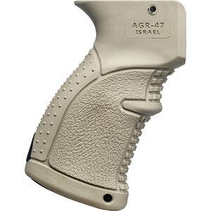 FAB-Defense AK-47 Rubberized Ergonomic Pistol Grip Polymer FDE