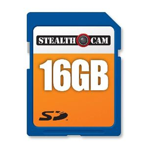 GSM Outdoors Stealth Cam 16GB SDHC Memory Card STC-16GB