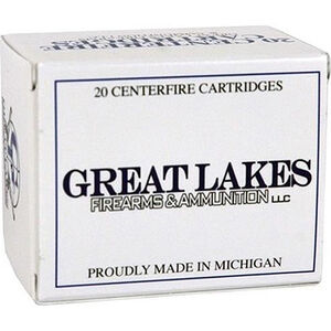 Great Lakes .450 Bushmaster Ammunition 20 Rounds 300 Grain Soft Point