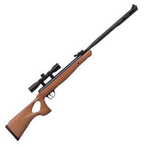 Crosman Valiant Nitrogen Piston 22 Pellet Rifle Hardwood Thumbhole Stock 950 fps with CenterPoint 4x32mm