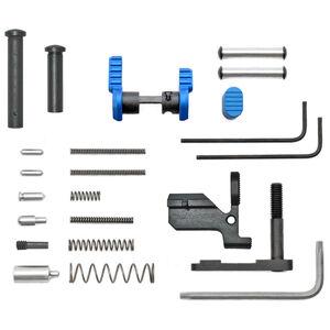 Armaspec AR10 Lower Parts Kit Metal Blue ARM150-Blue