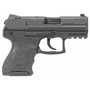 """HK P30SK 9mm Luger Semi Auto Pistol 3.27"""" Barrel 13 Round Magazine V3 DA/SA Night Sights Matte Black Finish"""