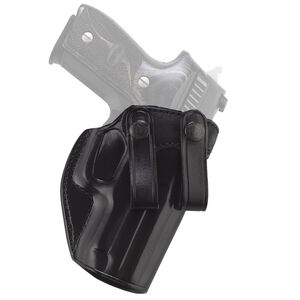 Galco Summer Comfort Kimber Micro 9 SIG Sauer P938 IWB Holster Right Hand Leather Black