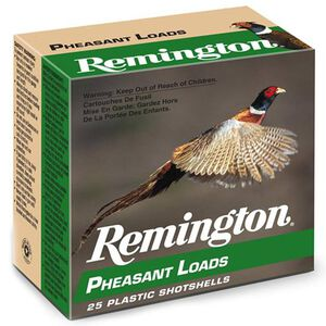 "Remington Pheasant 20 Ga 2.75"" #5 Lead 1oz 250 Rounds"