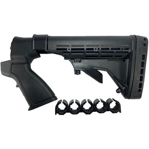 Phoenix Technologies Mossberg 500 12 Gauge Six Position Field Stock Polymer Black