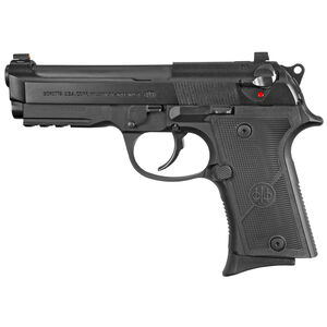 "Beretta 92X FR Compact 9mm Luger 4.25"" Barrel 10 Rounds Accessory Rail Ambi Safety/Decock Black Finish"