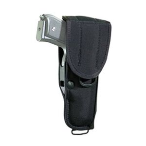Bianchi UM92II Universal Military Holster with Trigger Shield Large Frame Autos Belt Holster Nylon Black 17012