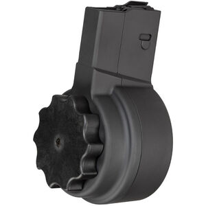 X Products X-25 50 Round Drum Magazine DPMS LR-308/SR-25 .308 Win. Aluminum Black