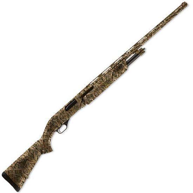 "Winchester SXP Waterfowl Hunter Pump Action Shotgun 12 Gauge 28"" Barrel 3.5"" Chamber 4 Rounds Synthetic Stock Mossy Oak Shadow Grass Blade Camo Finish 512270292"