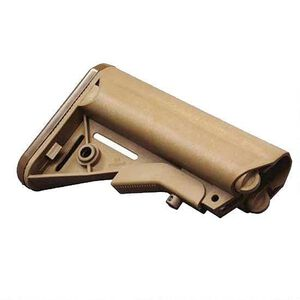 B5 Systems Enhanced SOPMOD AR-15 Stock, Mil-Spec, Coyote Tan