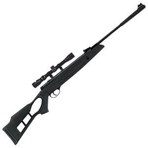 "Hatsan Edge .25 Caliber Break Barrel Air Rifle 16.5"" Barrel 650 fps 1 Shot 3-9x32 Scope Polymer Stock Blued Finish"