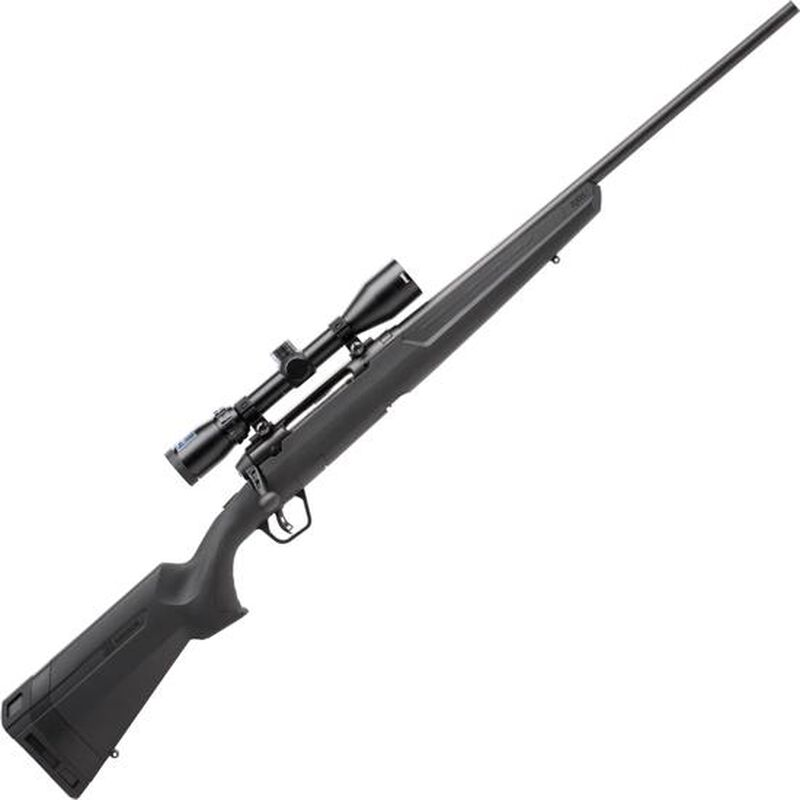 "Savage Axis II XP Package Bolt Action Rifle 6.5 Creedmoor 22"" Barrel 4 Rounds with 3-9x40 Scope Matte Black Finish"