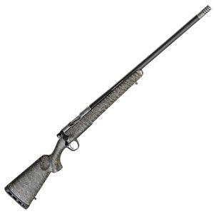 "Christensen Arms Ridgeline .300 PRC Bolt Action Rifle 26"" Threaded Barrel 3 Rounds Carbon Fiber Stock Green with Black/Tan Webbing"