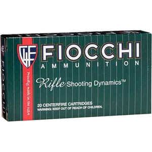 FIOCCHI .270 Winchester Ammunition 200 Rounds Hornady InterLock 150 Grains