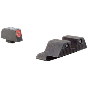 Trijicon HD XR Tritium Night Sight Set Glock 42 & 43 Orange Front/Green Tritium Rear