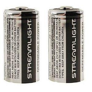 3-Volt Lithium Batteries for Scorpion Flashlight, 2 Per Pack