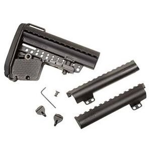 VLTOR Weapon Systems AR-15 Mil-Spec E-MOD Stock Black VLTAEB-MB