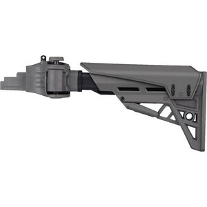 ATI AK-47 Strikeforce Adjustable Side-Folding TactLite Stock with X1 Recoil Reducing Grip & Butt-Pad in Destroyer Gray