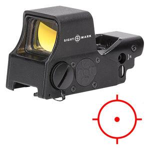 Sightmark Ultra Shot M-Spec Red Dot Reflex Sight Fixed Mount Standard 65 MOA Circle 1 MOA Dot Black