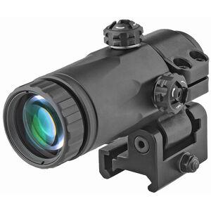 Meprolight MX3-T Magnifier Integrated Side Flip Adaptor 3X Picatinny Black