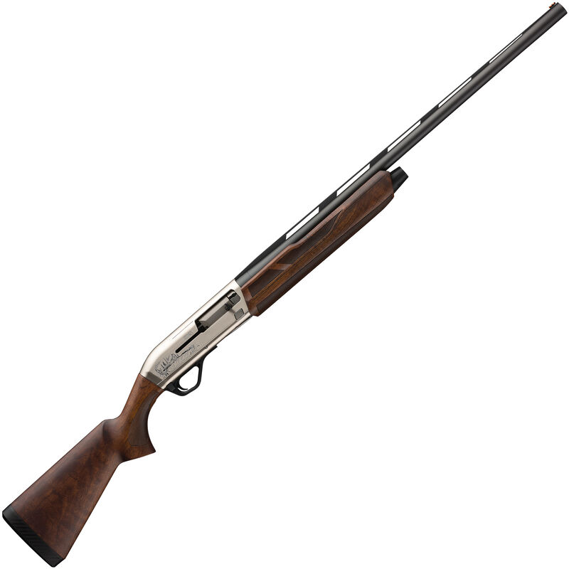 "Winchester SX4 Upland Field Semi Auto Shotgun 12 Gauge 26"" Barrel 3"" Chamber 4 Rounds FO Front Sight Engraved Receiver Walnut Stock Two Tone Nickel/Blued"