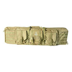 "American Tactical ATI Rukx Gear 36"" Tactical Double Gun Case Tan"
