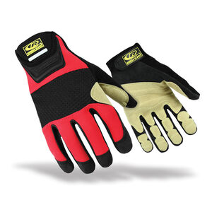 Ringers Gloves Rope Recue Gloves Med Red