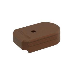 UTG PRO +0 Base Pad, SIG P320 9/40, Matte Bronze Aluminum