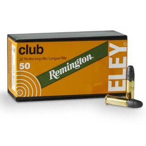 Remington/Eley Club .22 LR Ammunition 50 Rounds 40 Grain Lead