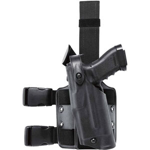 Safariland 6304 ALS/SLS Tactical Holster Fits S&W M&P Full Size and 2.0 Compact with Light Left Hand Hardshell STX Tactical Black