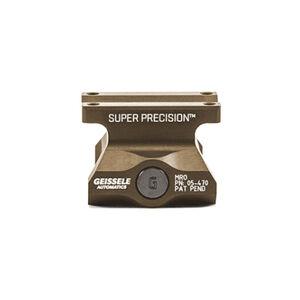 Geissele Super Precision Trijicon MRO Optic Mount Lower 1/3 Co-Witness Aluminum Desert Dirt 05-470S