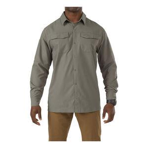 5.11 Tactical Freedom Flex Women L/S Shirt XL Sage Green