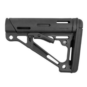 Hogue AR-15 Collapsible Carbine Buttstock Commercial OverMolded Black 15050