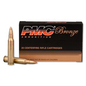 PMC Bronze .223 Rem Ammunition 55 Grain FMJ 2900 fps