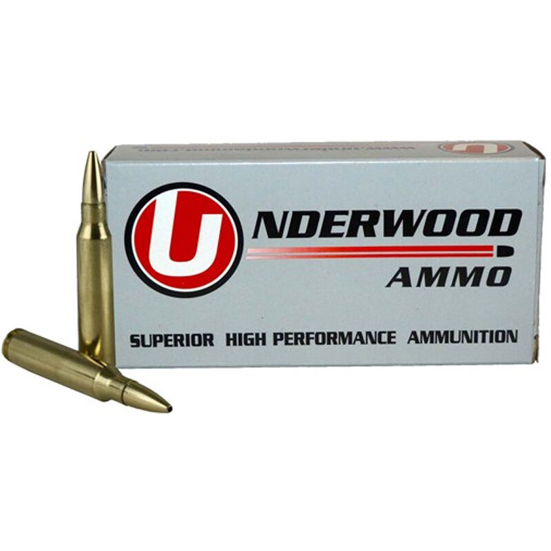 Underwood Ammo .270 Win Ammunition 20 Round Box 127 Grain Controlled Chaos Lead Free Projectile 3200 fps
