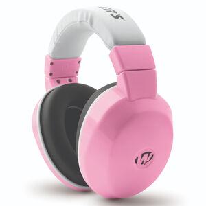 Walker's Game Ear Passive Infant/Toddler Earmuffs 20dB Noise Reduction Rating Comfort Headband Pink