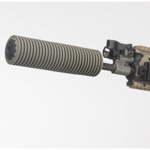 """Manta Suppressor Cover 1.5"""" ID 7"""" Long .223/5.56/.300/.308/7.62 Synthetic OD Green M7003"""
