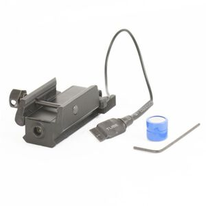 JE Machine 5mV pistol Red Laser with Side to Side toogle On/Off Swith and a Pressure Switch