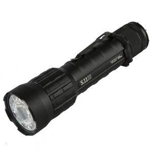 5.11 Tactical TMT R3MC Flashlight 357 Lumen LED Rechargeable Li-Ion/CR123A Batteries Tail Cap Switch Aluminum Body Black 53210
