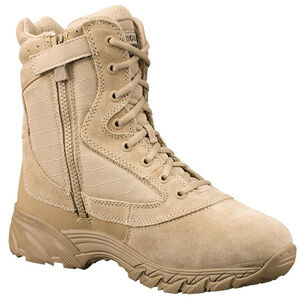 "Original SWAT Chase 9"" Tactical Side Zip Boot Size 8 Regular Tan 1312-TAN-8"