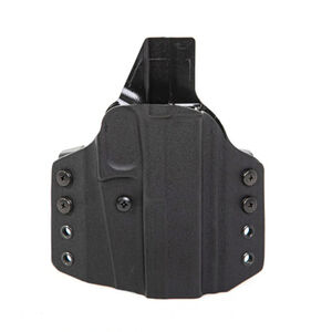 Uncle Mike's CCW Holster fits Springfield XD 9/40 and Compact OWB Right Hand Polymer Black